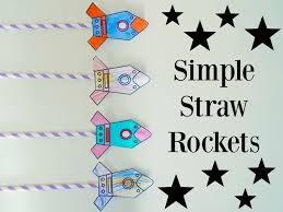 simple straw rockets free printable newyoungmum