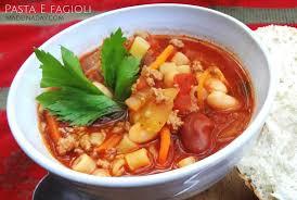 Italian Soup by Pasta E Fagioli Italian Soup Recipe Made In A Day