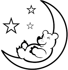 moon and stars coloring pages moon and star coloring pages
