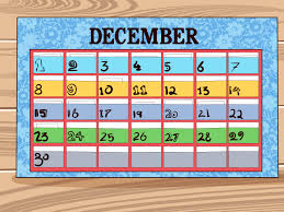 How To Do A Simple Spreadsheet 5 Ways To Make A Calendar Wikihow