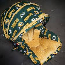 bay bay baby green bay packers infant car seat replacement cover you