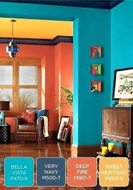 what color goes with orange walls burnt orange walls kerby co