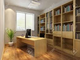 3d render interior of study room stock photo picture and royalty