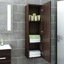 walnut bathroom cabinets munted strage mdern s walnut bathroom