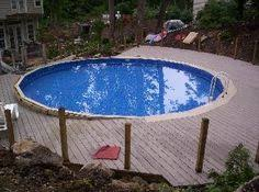 above ground pool decks for round pool http lanewstalk com