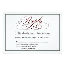 wedding reply cards lovely wedding invitation card reply wedding invitation design