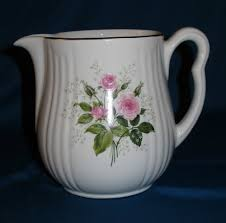 pitcher of roses s superior quality kitchenware pitcher pink roses
