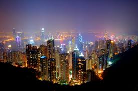 hong kong city nights hd wallpapers top view photo of lightened high rise buildings during night time