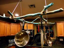kitchen marvelous kitchen hanging ceiling pot pan rack traditional