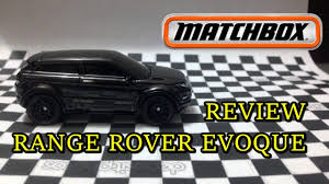 matchbox land rover defender 110 2016 matchbox 2017 range rover evoque review youtube