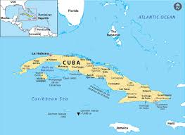 Where Is Cuba On A Map Where Is Guantanamo Bay Located Answers