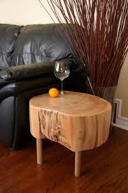 tree trunk end table tree trunk coffee tables sustainablepals org