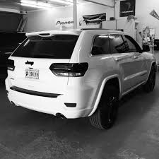 white jeep grand cherokee custom smoked out tail lights on jeep grand cherokee yelp