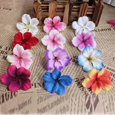 silk petals 100pcs 5cm multicolor artificial silk hydrangea heads