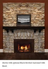 Majestic Vent Free Fireplace by Majestic Topaz 20ildv Direct Vent Gas Fireplace Insert Propane