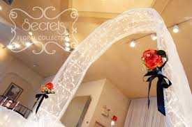 wedding arches using tulle wedding arch is decorated with white tulle twinkle lights and