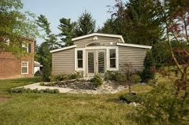 backyard u201cgranny pod u201d tiny house gives families an alternative to