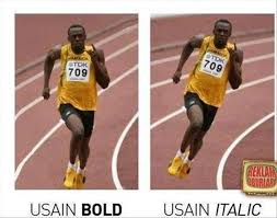 Track And Field Memes - usain bolt font trackandfield