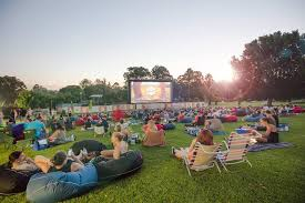 Botanical Gardens Open Air Cinema Sunset Cinema Brisbane
