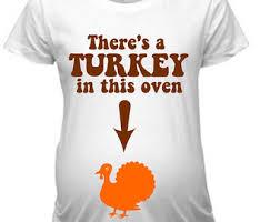thanksgiving pregnancy announcement shirts matching