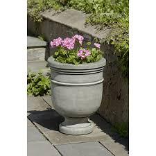 Outdoor Vase Outdoor Cast Stone Garden Urns