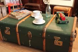 trunk style bedside tables furniture old trunk bedside table steamer tree vintage storage
