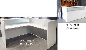 Reception Desk Ebay L Shaped Salon Reception Desk Receptionist Desk Ebay