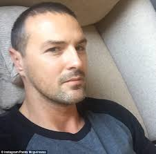 does paddy mcguiness use hair products paddy mcguinness comforts tearful wife christine daily mail online