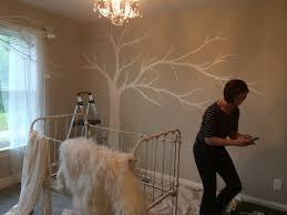 tayrose design interior design cuckoo for nursery wall art sarah painting tree mural