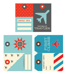 themed luggage tags 33 best printable luggage tags images on printable