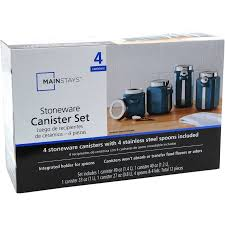 walmart kitchen canister sets ceramic kitchen storage canisters