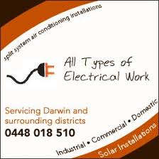 all types of electrical work home air conditioning winnellie