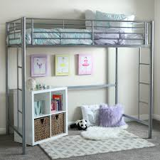 Bunk Bed Room Furniture White Playhouse Loft Bed With Stairs And Slide Diy