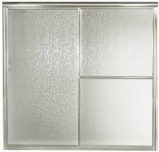 Sterling 5900 Shower Door Sterling 5900 Tub Shower Door 59 3 8 In W X 56 1 4 In H Silver
