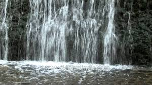 artificial waterfall at rock garden chandigarh youtube