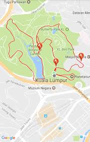 Map Running Route by Pacesetters Athletic Club Running U0026 Hiking Routes