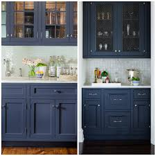 blue kitchen cabinets grey walls 4 ways to use navy blue in your kitchen big chill