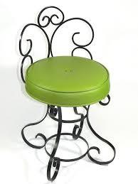 Vintage Vanity Chair Wrought Iron Vanity Chair