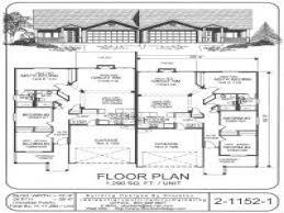 plans duplex plans single story