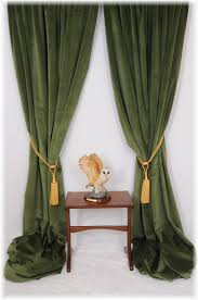 Velvet Drapes Target by Superb Forest Spruce Green Velvet Curtains Bespoke Service All