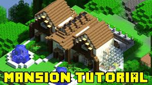 minecraft mansion build tutorial xbox ps3 pe pc quick and easy