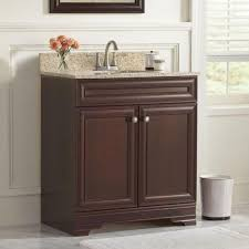 Home Decorators Bathroom Vanity Home Decorators Collection Grafton 31 In Vanity In Crimson With