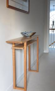 White Hallway Table Gorgeous Narrow Console Table For Hallway With Regarding Thin