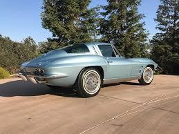 1962 split window corvette 1963 silver blue split window corvette coupe vettes