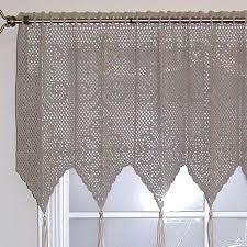 153 best crochet curtains n valances images on pinterest crochet