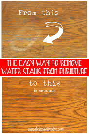 How To Dry Wet Wood Floors Best 25 Remove Water Rings Ideas Only On Pinterest Water Rings