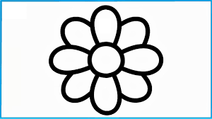 how to draw flowers learning rainbow colors for baby coloring