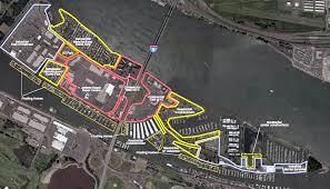 Portland Oregon Traffic Map by Hayden Island Portland U0027s Island Community