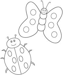 simple ladybug coloring ladybug coloring image 5