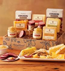 sausage gift baskets grand sausage and cheese gift box harry david